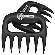 Pulled Pork Shredder Claws - STRONGEST BBQ MEAT FORKS - Shredding Handling & Carving Food - Claw Handler Set for Pull...