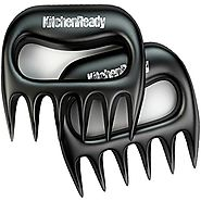 KitchenReady Pulled Pork Meat Shredder Claws; Grill Accessories for Smoker, Slow Cooker, Crock Pot