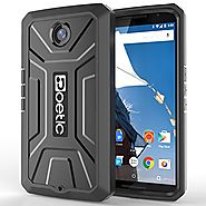 Google Nexus 6 Case - Poetic Google Nexus 6 Case [Revolution Series] - [Heavy Duty] [Dual Layer] Complete Protection ...