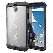 Nexus 6 Case - Poetic Google Nexus 6 Case [Affinity Series] - [TPU Grip Bumper] [Corner Protection]Protective Hybrid ...