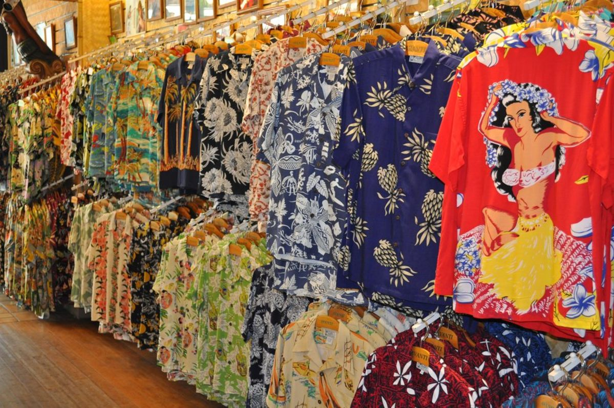 Headline for Aloha Wear Blog - Aloha Shirt