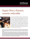 Supply Chain y finanzas, conexión indiscutible