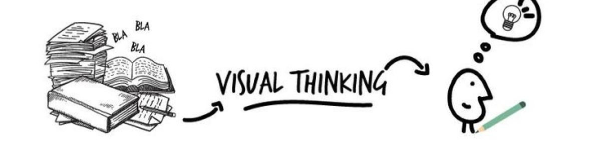 Headline for Visual thinking,design thinking & sketchnoting: a way of learning