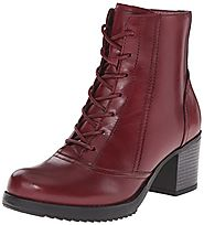 Dansko Women's Ames Boot, Red Antiqued Calf