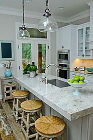Granite is durable and stain resistant.