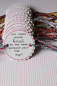 Friendship Bracelet Valentines | Template