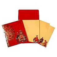 Hindu Wedding Cards | AW-1669 | A2zWeddingCards