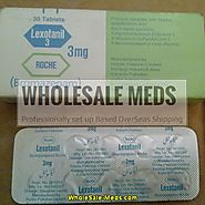 Lexotanil 3mg (Bromazepam) - WholeSale meds