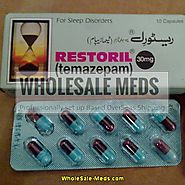 Buy Restoril 30mg Online Order Now Temazepam | No Rx