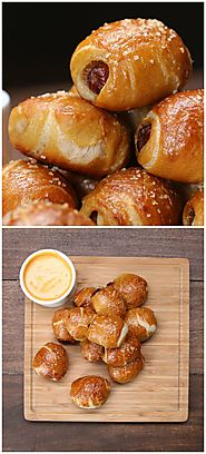 Pigs In A Pretzel Blanket