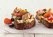 Nicoise Toasts Recipe