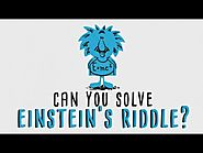 Can you solve 'Einstein's Riddle'? - Dan Van der Vieren