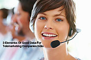 3 Elements Of Good Data For Telemarketing Companies In India