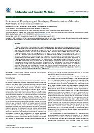 Phenotyping and Genotyping Characteristics of Serratia Marcescens