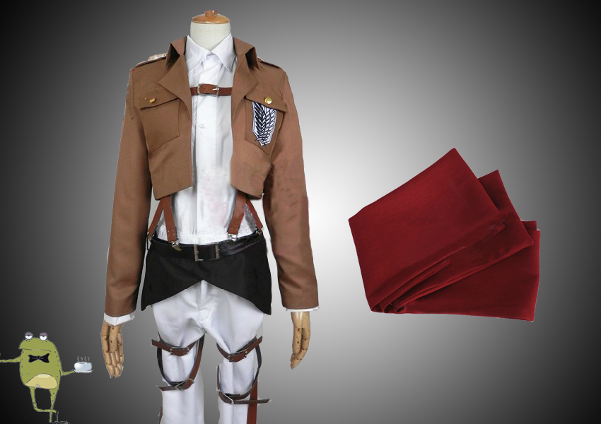 Attack on Titan Mikasa Ackerman Cosplay Costume - cosplayfield.com