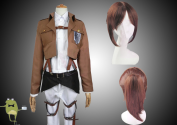 Attack on Titan Sasha Braus Cosplay Costume + Wig