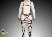 Attack on Titan Belts and Harness Cosplay Straps