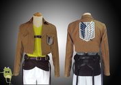 Attack on Titan Connie Springer Cosplay Costume Scouting Legion
