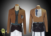 Attack on Titan Bertholdt Fubar Cosplay Costume Scouting Legion