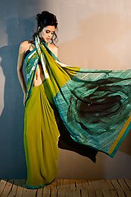 Explore the Collection of Fancy Printed Sarees | Satya Paul