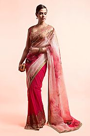 Look Bold and Beautiful In Fancy Printed Sarees