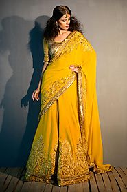 What is best designer sarees online shopping in Jaipur?