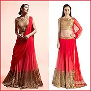 Add Glamour To Your Ethnic Look in Ready-to-wear Sarees