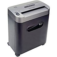 Royal 112MX 12-Sheet Cross Cut Shredder Shreds CD's with Console (Black)