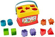 Fisher-Price Brilliant Basics Baby's First Blocks: Amazon.in: Baby