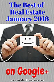 Top Google Plus Real Estate Articles January 2016