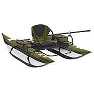 Small Inflatable Pontoon Fishing Boats * Fins Catcher