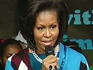 Michelle Obama: A plea for education