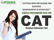 CAT 2016: OPTIMIZE YOUR PREPARATION : Simple tips