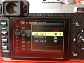 My Fuji X100S Custom Settings