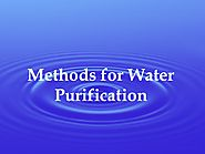 Methods for Water Purification