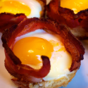 Bacon & Egg On-a-Stick