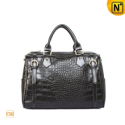 Women Black Leather Handbags CW277606 - cwmalls.com
