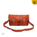Women Leather Flap Crossbody Bags CW289182 - cwmalls.com