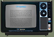 TV Ipsum - A Unique Ipsum Text Generator Using TV Theme Lyrics
