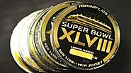 Super Bowl 50 coin shipped from Melbourne