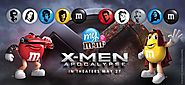 X-MEN M&Ms, Straight From Xavier's School for Gifting Yum-sters | Nerdist
