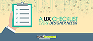 A UX Checklist Every Designer Needs -