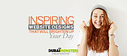 Inspiring Website Designs That Will Brighten Up Your Day -