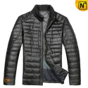 Mens Leather Down Jacket CW804283