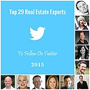 Top 29 Real Estate Experts To Follow In 2015