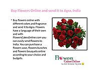 Buy Flowers Online and send it to Agra, India