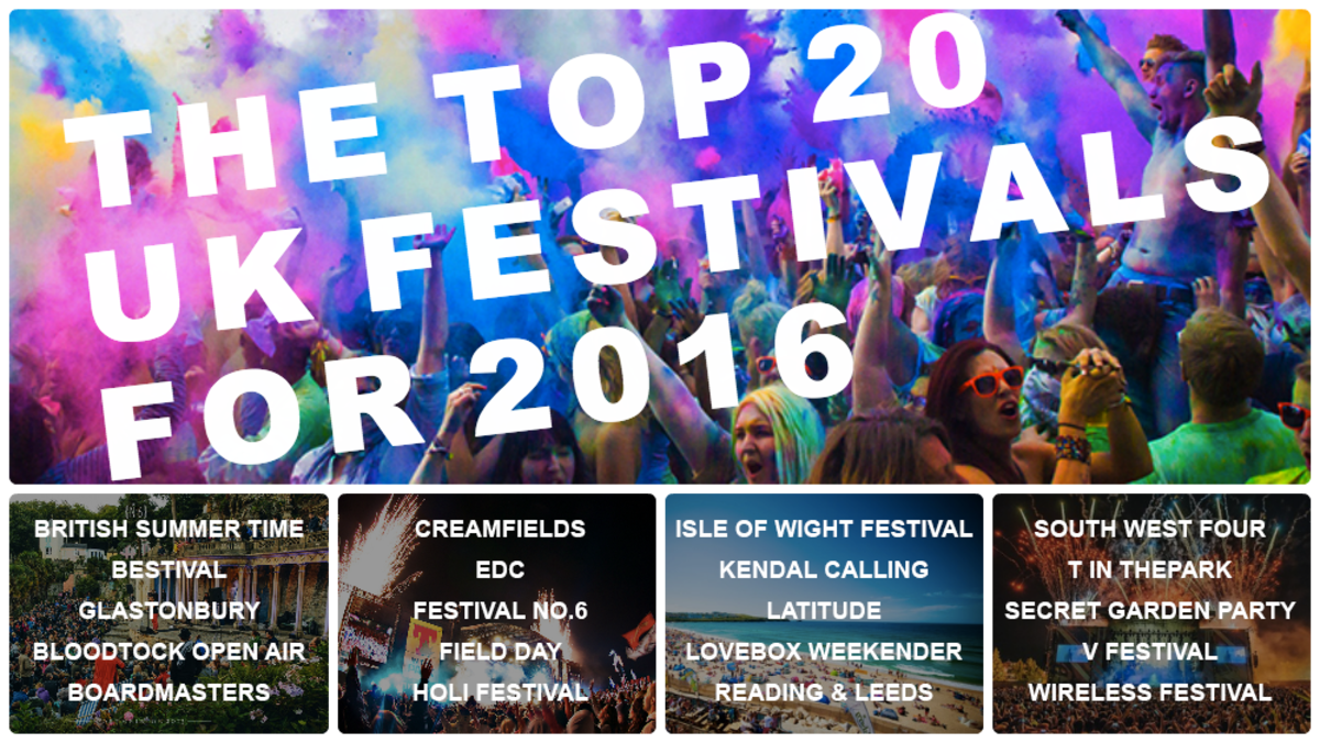 Headline for Vote Your Top UK Festival for 2016