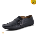 Mens Leather Flat Shoes CW709019