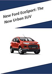 On The Road: New Ford EcoSport - Car Review