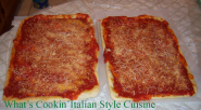 What's Cookin' Italian Style Cuisine: Italian Tomato Pie Upstate N. Y. Style Recipe